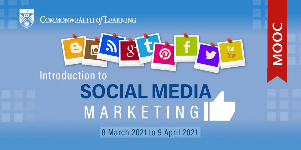 Image showing Introduction to Social Media Marketing, 8 March 2021 to 9 April 2021